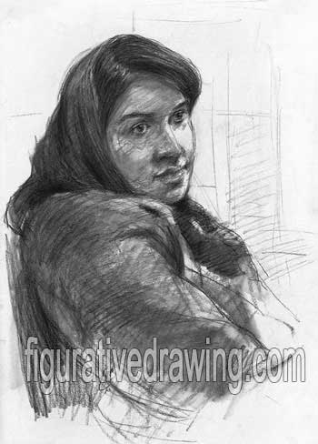Portrait Drawings-Drawing Gallery 1-25
