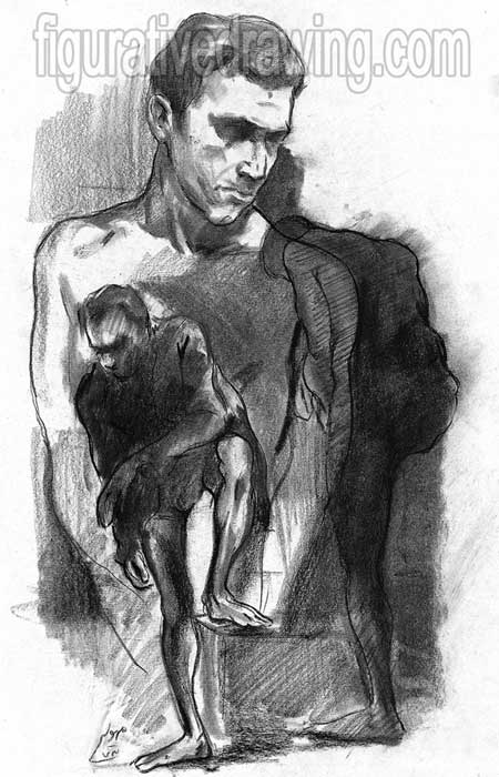 Figurative Drawings-Gallery 1-3